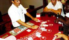 Blackjack Game at Captain's Casino, Captain Morgan's Retreat.