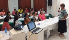 Belizean Women receive Marketing training via Universidad de Quintana Roo.