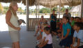 The students also meet a smaller croc while learning about their importance to our ecosystem. (Photo 1 of 19 photo(s)).