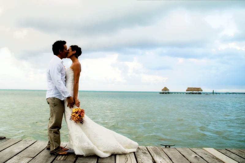 romantic travel belize wedding photo 15 of 16 photos