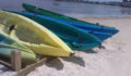 kayaks on the beach at Exotic Caye Resort (Photo 14 of 69 photo(s)).