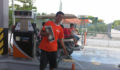 The gas attendants are always happy to get a paper! (Photo 10 of 69 photo(s)).