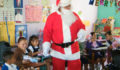 San Pedro Town Council give gifts to the kids of San Pedro (9) (Photo 1 of 19 photo(s)).