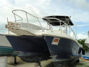 30 foot Hydro Cat w/ 2 300 Yamaha Engines $30,000US OR BEST OFFER. Please call 631-9253