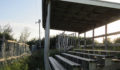 Overgrown Bleachers at the Ambergris Stadium (Photo 8 of 14 photo(s)).