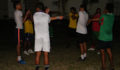 The San Pedro Sea Dogs prepare for the 2012 PLB Football Competition (Photo 11 of 14 photo(s)).