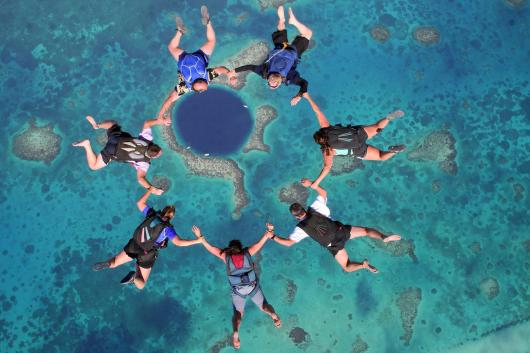 Boogie in Belize Sky Divers