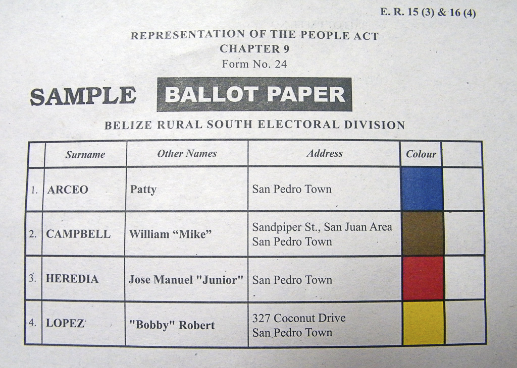 Countrywide Countdown to Elections 2012 - The San Pedro Sun