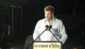 Prince Harry speaking at the renaming of Cohune Walk to Elizabeth II Boulevard (Photo 13 of 15 photo(s)).