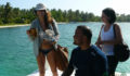 Kate Walsh and Ocean in Belize 11 (Photo 9 of 18 photo(s)).