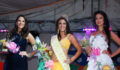 (L-R) First Runner Up, Miss Panama - Karen Jordan, La Reina de la Costa Maya 2012, Miss Mexico - Natalia Villanueva,  and Second Runner Up Miss Costa Rica - Mariela Aparicio (Photo 2 of 42 photo(s)).