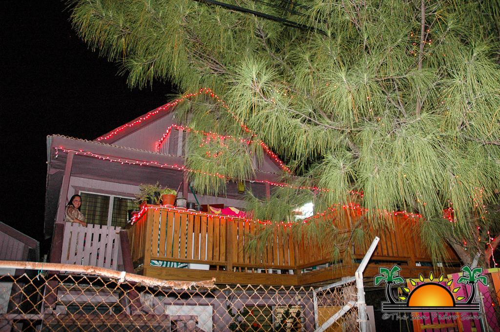Christmas Lights That Shine On House