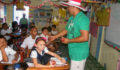 San Pedro Town Council brings Christmas treats to Primary School students (1) (Photo 8 of 10 photo(s)).
