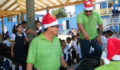 San Pedro Town Council brings Christmas treats to Primary School students (Photo 9 of 10 photo(s)).