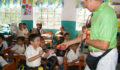 San Pedro Town Council brings Christmas treats to Primary School students (6) (Photo 3 of 10 photo(s)).
