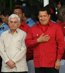 NICARAGUA-ORTEGA-INSTALLATION-CHAVEZ