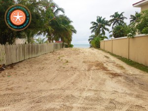 North Ambergris Caye Street-1