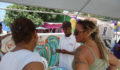 PASMO offers services at Caye Caulker Health Fair (Photo 3 of 10 photo(s)).