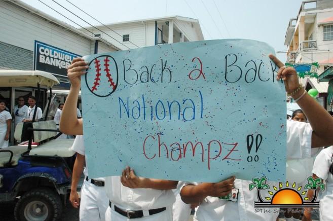 Softball Champions Parade SPHS-10
