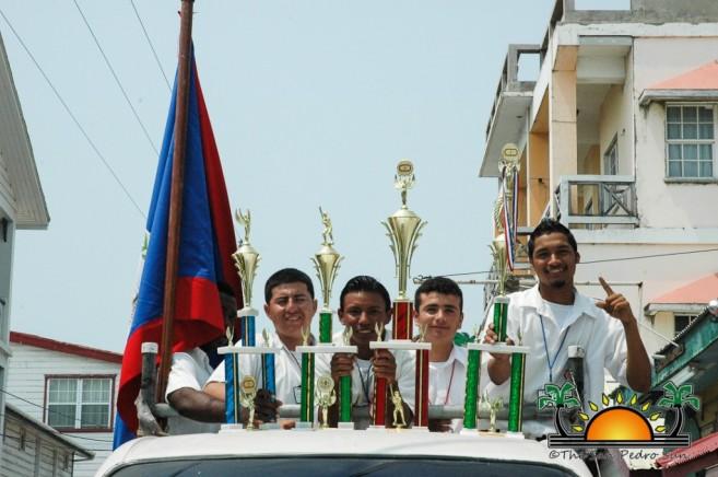 Softball Champions Parade SPHS-13
