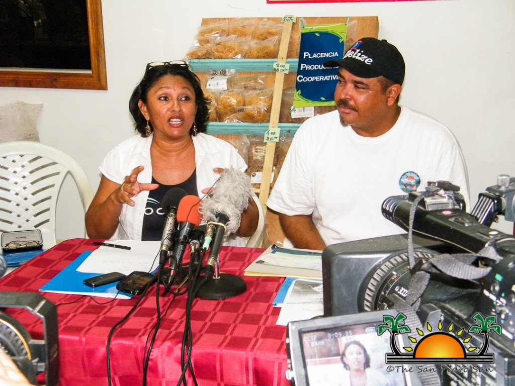Oceana donates Trawler to Placencia-1