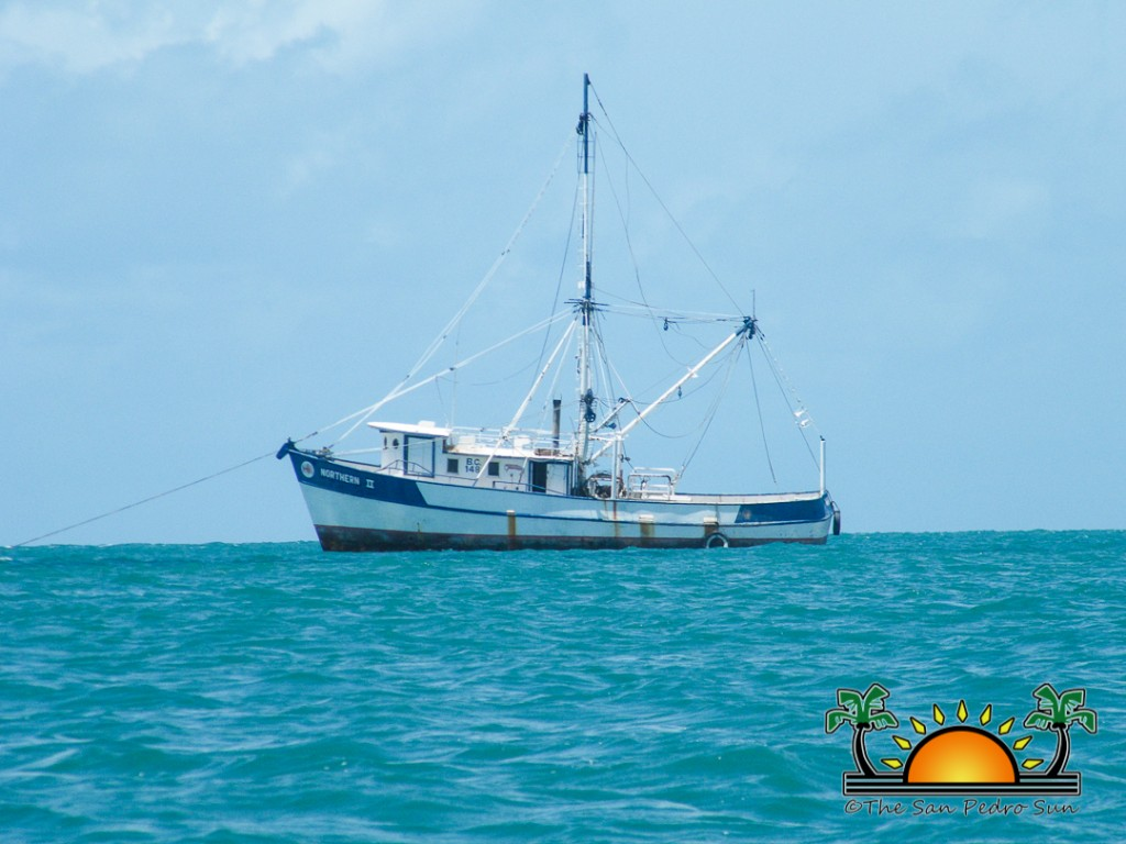 Oceana donates Trawler to Placencia-9