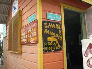 Shark-Panades-for-Sale-Caye-Caulker