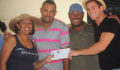 Oceana VP Audrey Matura Shepherd delivers 1st Prize to Winners Turtle Inn  (Photo 2 of 2 photo(s)).
