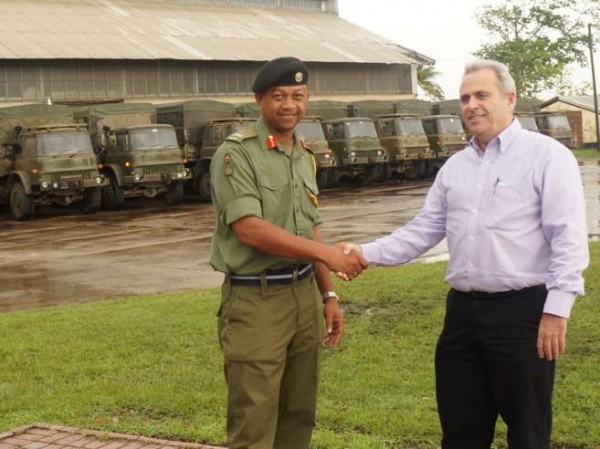BDF receives Trucks