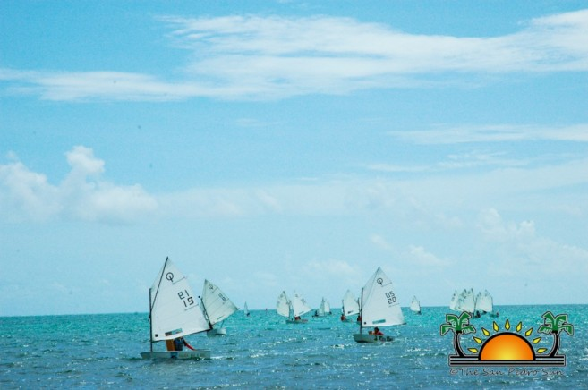 Sailing Regatta St George's Caye-6
