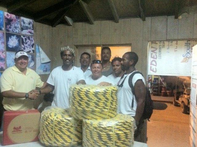 42 Canary Cove donates to SPTGA