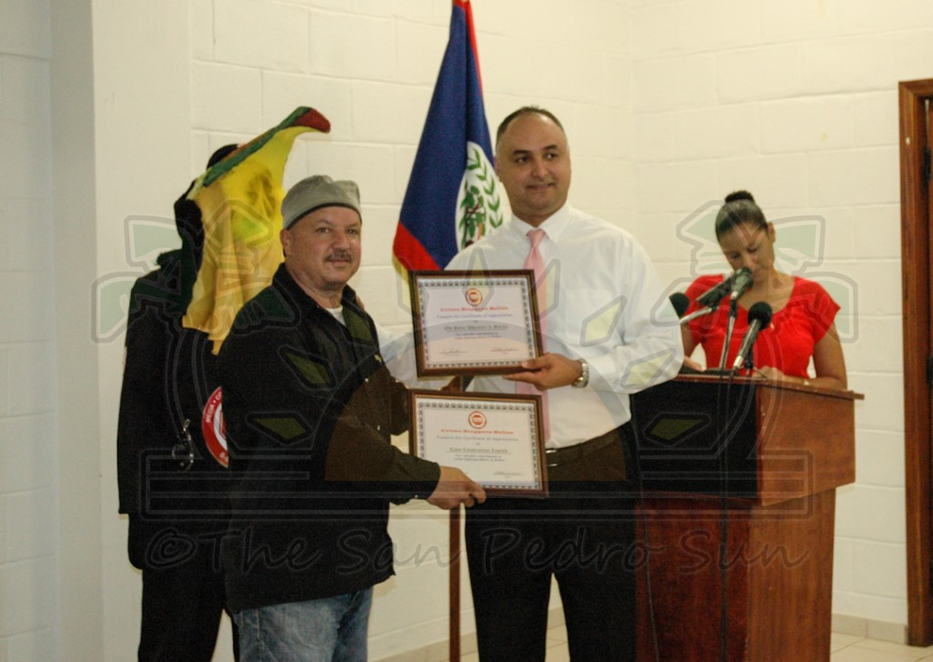 Crime Stoppers Belize wins two regional awards - The San Pedro Sun