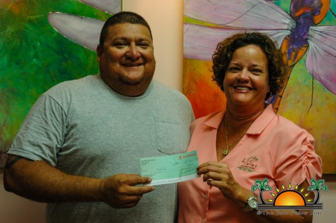 SPTC donates to Darts Team-2