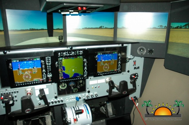Tropic Air Redbird Simulator-4