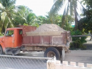 49 Caye Caulker residents upset over sand and road (3)