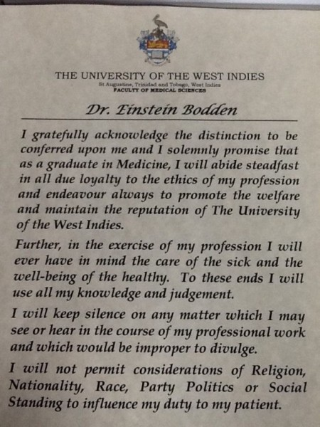01 Einstein receives Medical Degree (3)