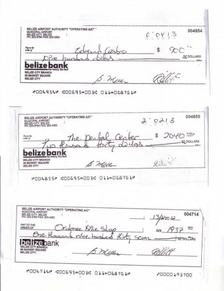 Castro cheques 1 - NEW