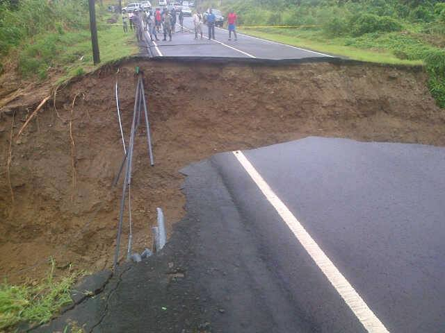 St-Lucia-Road-Damage-Courtesy-SVG-TV