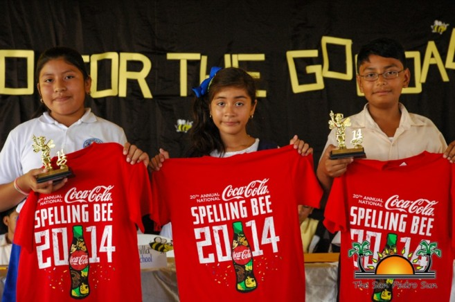 Spelling Bee Zone 5 Winners-1