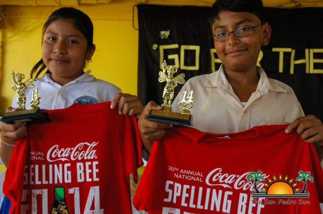Spelling Bee Zone 5 Winners-2