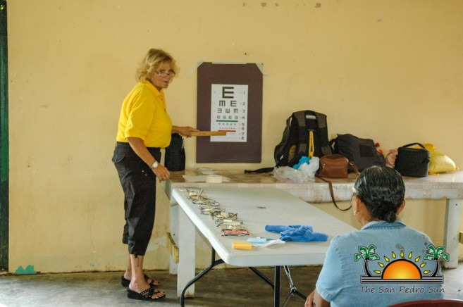 Lions Donate Eyeglasses in South Belize-16