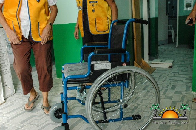 Lions Wheelchair Donation PolyClinic-2