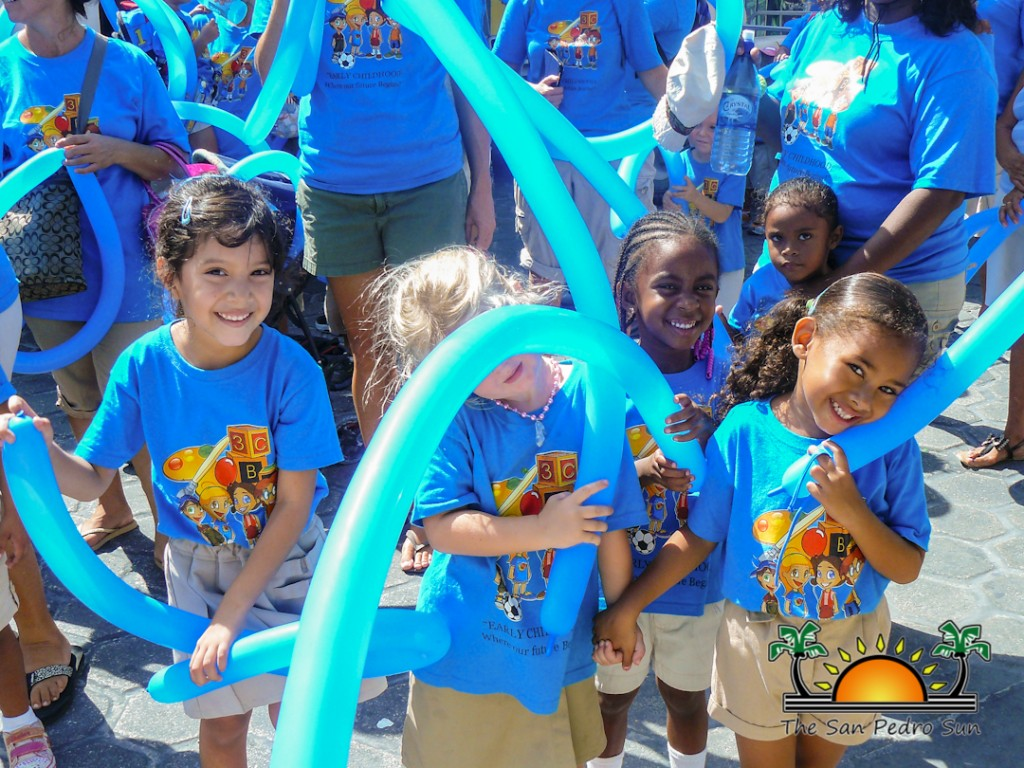 Child Stimulation Month Ends With Parade The San Pedro Sun On Electricity It Walks Kids Through Nature Of And Closing 3