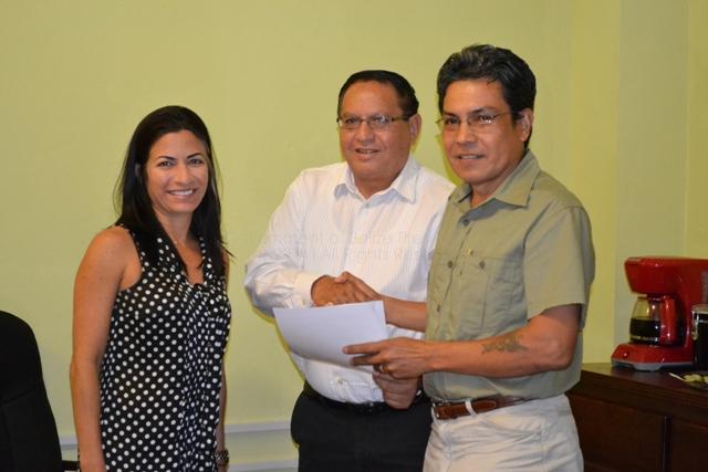 Christy Mastry, Hon. Rene Montero & Luis Ruiz