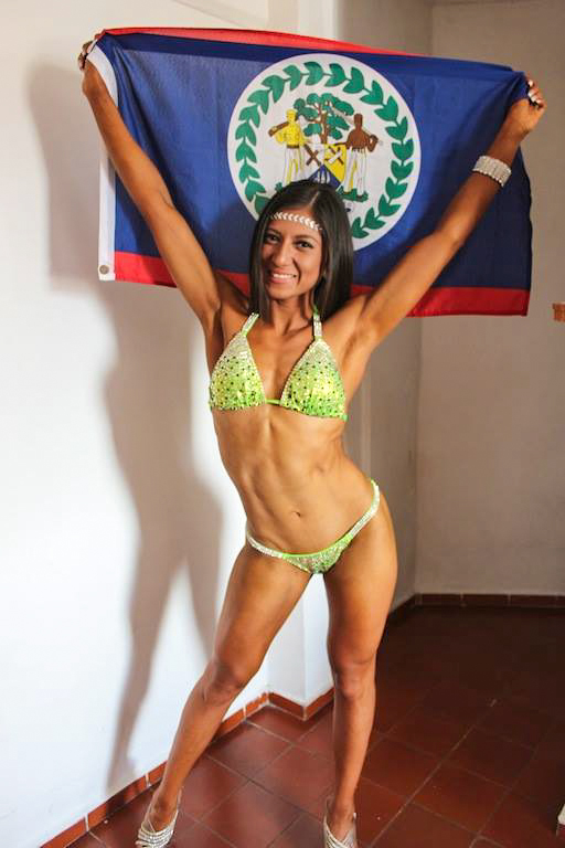 Gabriela Gaba Nuez Competes In First Body Building -8631