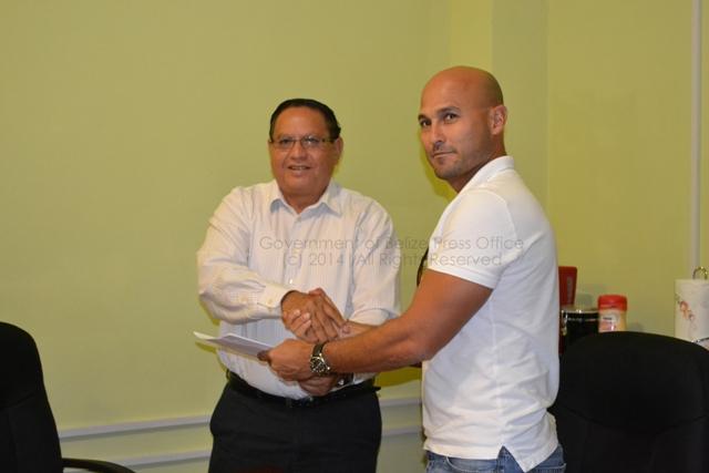 Hon. Rene Montero and Daniel Arguelles