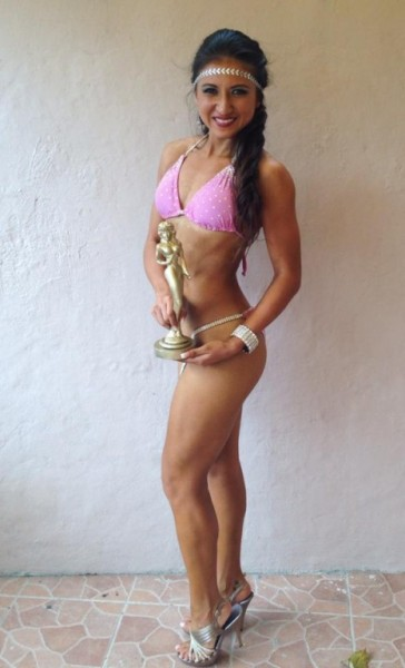 Gaba Nunez Second Place Bikini Fitness 1