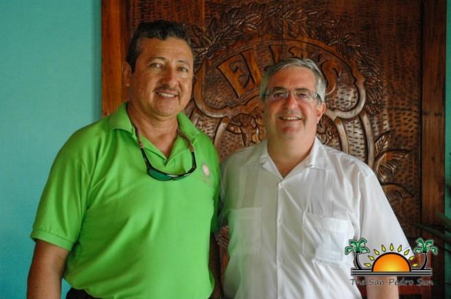 Israel Ambassador Mayor San Pedro Belize-1