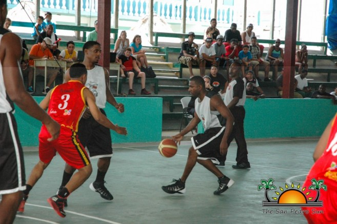 San Pedro Tigersharks Win First Game Cayo Western Ballaz-4