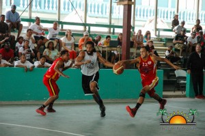 San Pedro Tigersharks Win First Game Cayo Western Ballaz-7